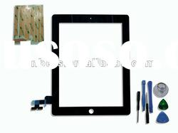 For Apple Tablet/PAD iPad 2 Touch Panel Screen Glass Digitizer Replacement Part with Tools Black