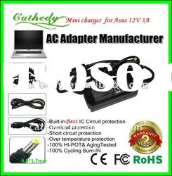For Asus EEE Pc Touch T91 T91mt-pu17-bk Mk90h T101mt Netbook Ac Adapter Charger