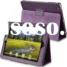 For iPad Leather Case Cover With Stand