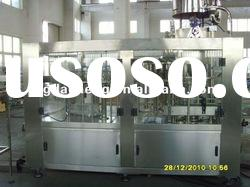 Full automatic bottling rinsing filling and capping machine