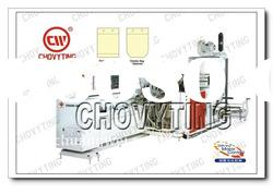 Fully Automatic Servo Motor Drive Side Hole Bag Making Machine
