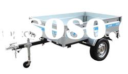 Galvanization ATV trailer with tipping box