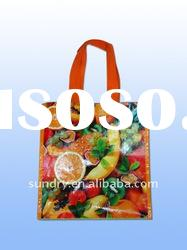 Green Eco friendly High Quality PP woven bag