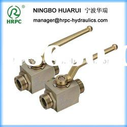 HRPC brand high pressure 3 way ball valve