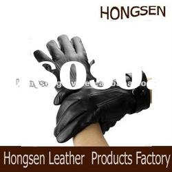 HS1012 men's leather gloves