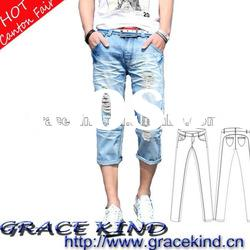 High Fashion Brand Mens Jeans Shorts, Ready Made Jeans Pants(GK171#)
