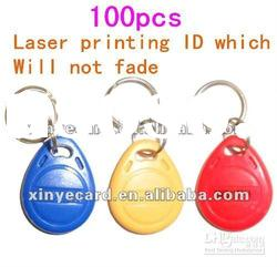 High Quality Key fob/Key chain with EM4100(use in ID and access control)