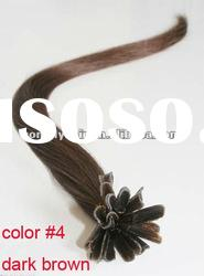 High Quality U-Tip Prebonded Hair Extension