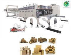 High Speed Automatic Printing and Slotting Machine