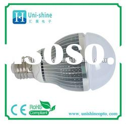 High power dimmable 9W LED bulb E27