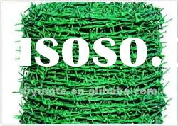 High quality PVC Coated Barbed Razor Wire