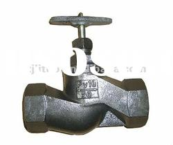 High quality cast iron globe valve russian standard