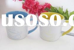 Inside glazing color wholesale coffee mugs