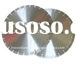 L20mm H20mm Brazed silent circular diamond saw blade granite