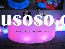 LED table/LED hight ba table/bar counters/used home bar furniture/table and chair furniture