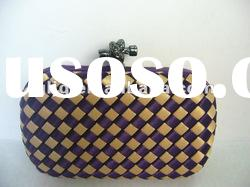 Ladies evening bags/clutch bags/ hard case clutch