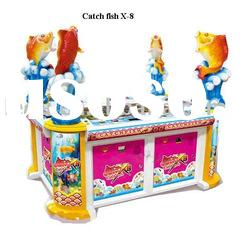 Luxurious catch fish X-8 video game machine with coin operated