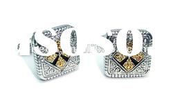 Luxury Men's jewelry men's cufflinks stud (7-063)