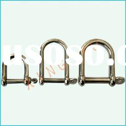 Marine rigging hardware d shackle