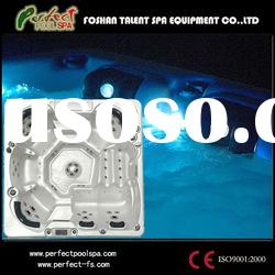 Massage hot tub/Acrylic outdoor spa hot tubs with LED light/TV
