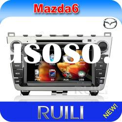 Mazda 6 car dvd with gps navigaiton system