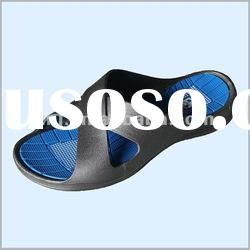 Name brand slippers PVC air blowing for men