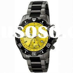 Newest&Fashionable design of quartz stainless steel watch water resistant