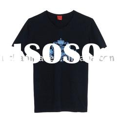 OEM OFFER , FACTORY PRICE high quality short sleeve t-shirt for men with printed
