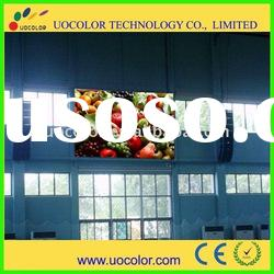 P12 Advertising for electronic full color led display with stable capability