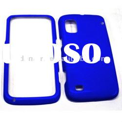 PC RUBBERIZED front and back protective cover plastic case for BOOST MOBILE ZTE WARP N860