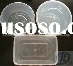 PP Round plastic disposable food container-750/1000ml