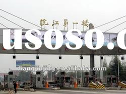 P 20 outdoor advertising LED curtain display