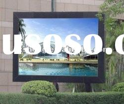 Perfect resolution P10 full color outdoor advertising led displays