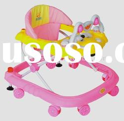 Plastic Baby Walker(with music and toys)