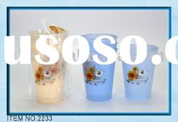 Plastic Drinking Cup In Small Size of 4pcs