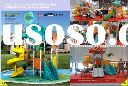 Plastic outdoor playground for kids ZLJ106