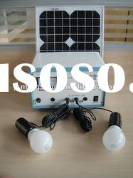 Portable Indoor Solar Power Rechargebale System 10W kit (G60 lamp)
