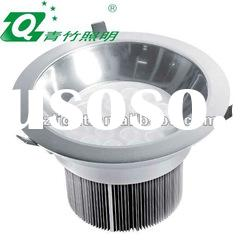 Promot 18W/30W/30W high power led ceiling down light with pc cover