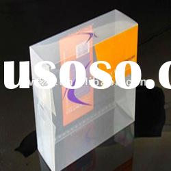 Raiser super PVC customized plastic box for cosmetic packaging