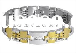 Smart Classic chain and link bracelets for men stainless steel jewelry