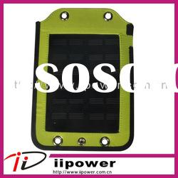 Solar power charger for mobile phone