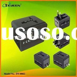 Travel Adapter with USB Charger for Mobile phones, Mp3