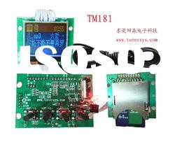 Tunersys fm amp audio board lcd display (TM181)