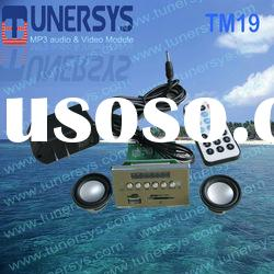 Tunersys fm car mp3 player with usb interface (TM19)