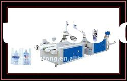 Two lines Full Automatic High Speed shopping bag T-shirt Bag Making Machine