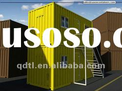 Two storey light steel frame prefabricated movable GP20 container house