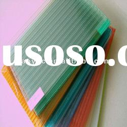 UV-protected lexan twin wall polycarbonate sheets pc hollow sheet