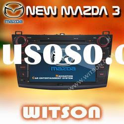WITSON Special DOUBLE DIN CAR DVD WITH GPS For NEW MAZDA 3 (2010-2011)