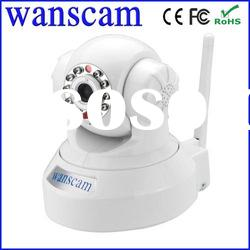 Wanscam wifi video h.264 network plug and paly camera ip