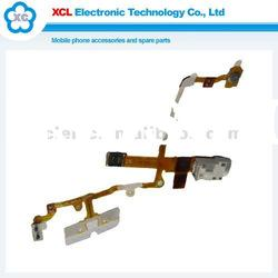 White Audio Flex Cable Ribbon Jack for 3G